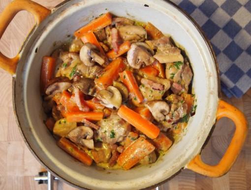 Franse stoofpot met kip