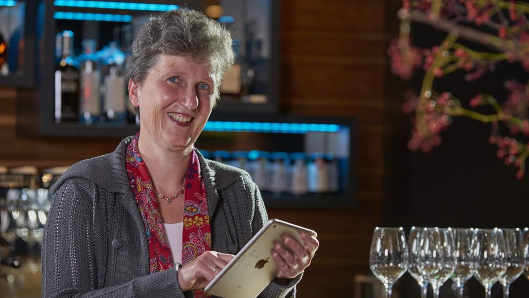 Wijnschrijver Mariëlla Beukers