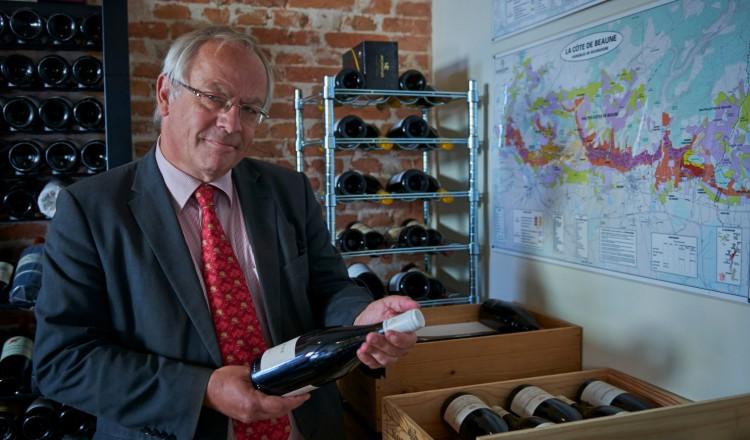 Wijnschrijver René van Heusden
