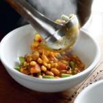 Chileense stoofpot met pompoen