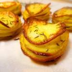 Aardappeltaartjes 'Pommes Anna'