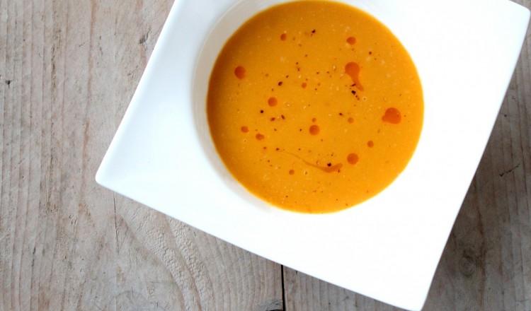 spicy pompoensoep