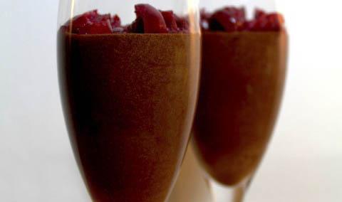 chocolademousse Liggend