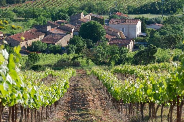 Languedoc het dorp