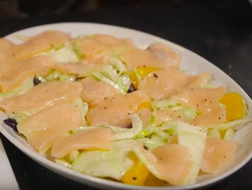Zwaardvis sashimi