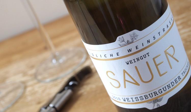 Heiner Sauer Pinot blanc