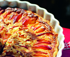 Nectarine taart