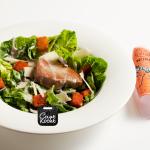 Caesarsalade met gegrilde tonijn