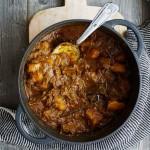Aardappelcurry met rundvlees