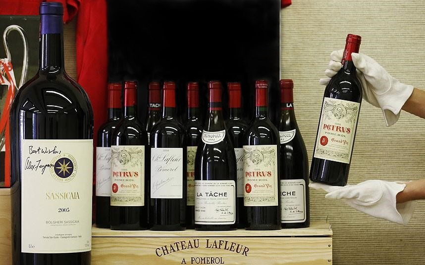 Dure wijnen uit Sour Grapes