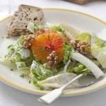 Winterse salade met sinaasappel