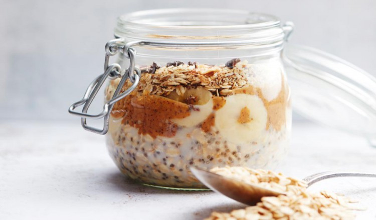 Chunky oatmeal uit Easy Vegan met Julie