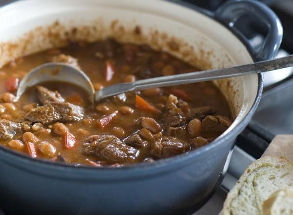 Chili con carne uit Texas