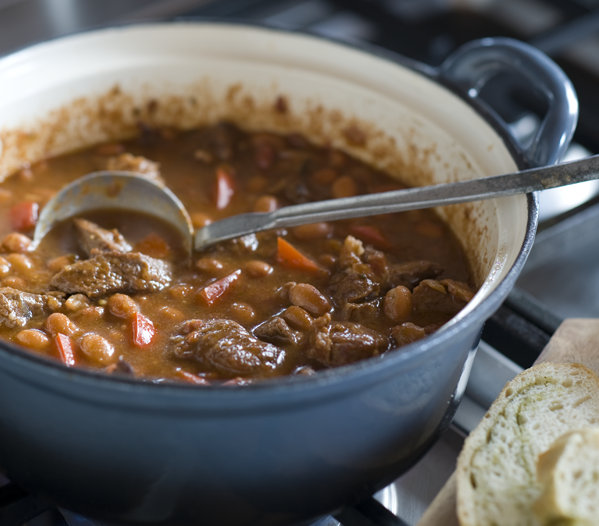 Chili con carne uit Texas