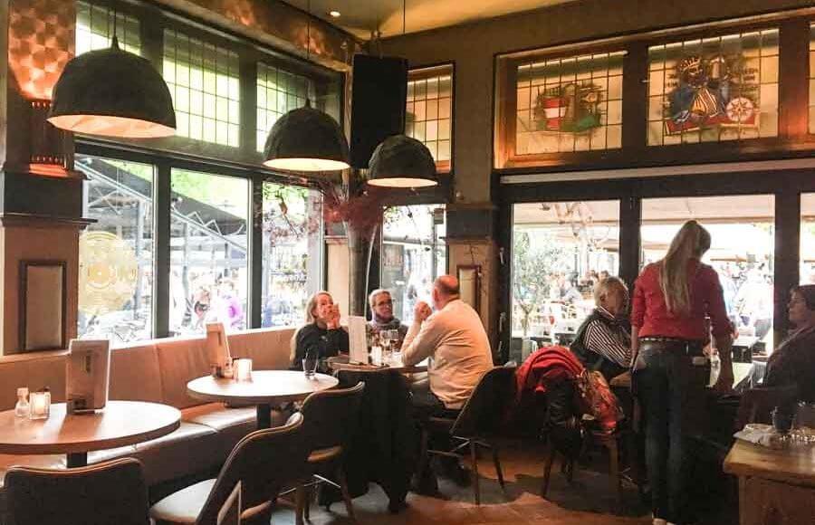 Interieur historisch De Tijd Bar & Grill