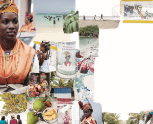 collage uit de Franse Wereldkeuken
