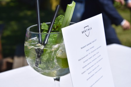 Alcoholvrije cocktail van Restaurant Bentinck