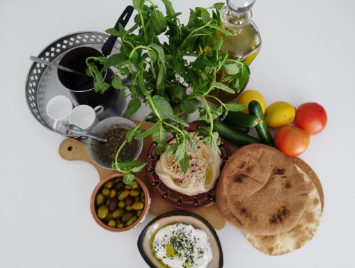 Basisingrediënten Jordanië