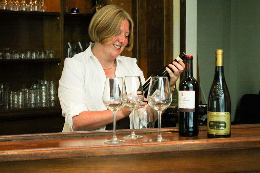 Miranda van Elswijk; een van de auteurs van I Love Food & Wine