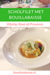Recept: Scholfilet met bouillabaisse-saus en groente #scholfilet #bouillabaisse #Vineum #Cooqing
