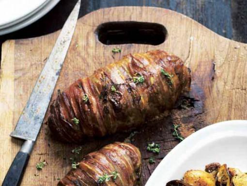 Gehaktbrood - meatloaf uit Scandinavische stijl kookboek
