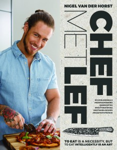 Cover kookboek Chef met Lef