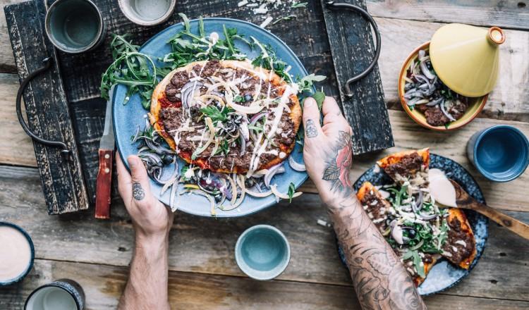 Pizza Arabica van Chef met Lef