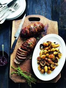 Meat loaf , gehakbrood uit kookboek Scandinavisch Comfort Food