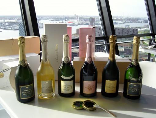 Champagne met kaviaar van Deutz en Imperial