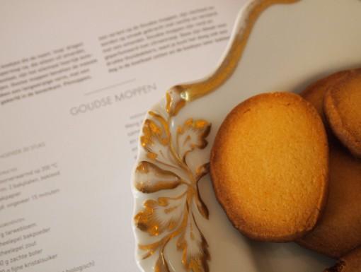 Goudse moppen, een simpel zandtaartdeeg koekje