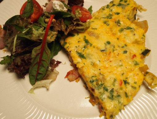 Italiaanse groente-omelet