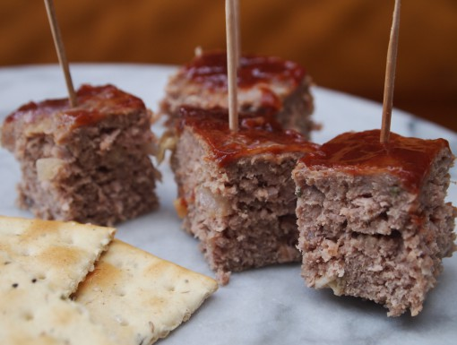 Meatloaf als borrelhapje