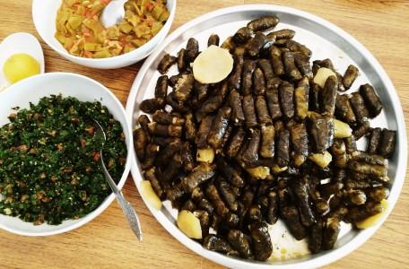 Jordanië: eten van opa