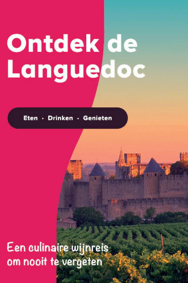 Ontdek met ons de wijnregio van de Languedoc, Frankrijk. Laat je verwennen en verrassen en overnacht in een sfeervolle chambre d'hôte, ooit het huis van een wijnboer. De wijngaarden van de Languedoc strekken zich uit van Nîmes tot aan de Côtes du Roussillon en behoren tot de oudste van de wereld. We bezoeken toonaangevende wijndomeinen en tal van culinaire plekjes. Ook presenteren we met trots de beste restaurants uit de omgeving, die we zelf hebben beoordeeld! #weekjeweg #wijnspijscombinaties #Languedoc #culinairereis #wijn