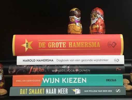 Wijnboeken als Sinterklaascadeau