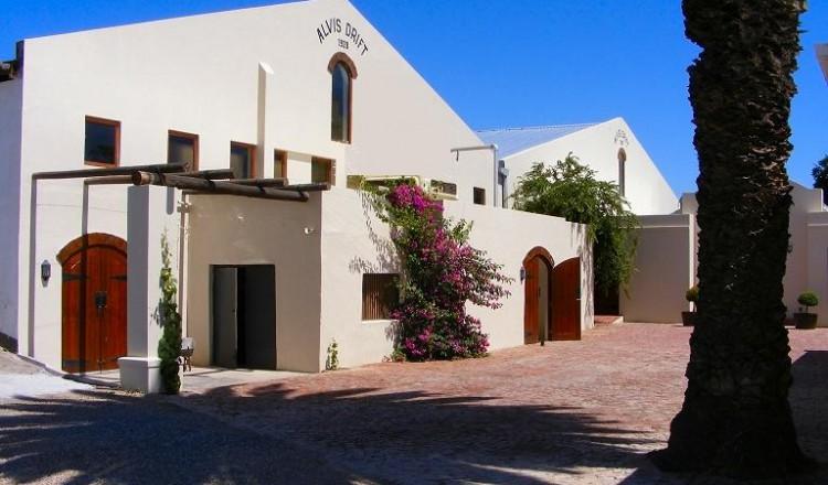 Alvi's Drift wijnhuis in Zuid-Afrika