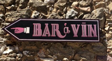 Wijnbar in Languedoc