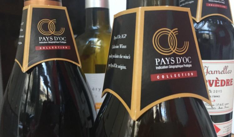 Pays d'Oc wijn met label