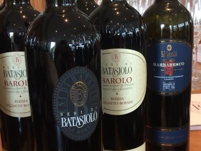 Wijnen van het huis Batasiolo