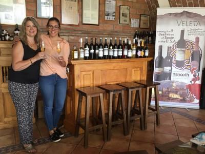 Wijnmakers-team van Veleta