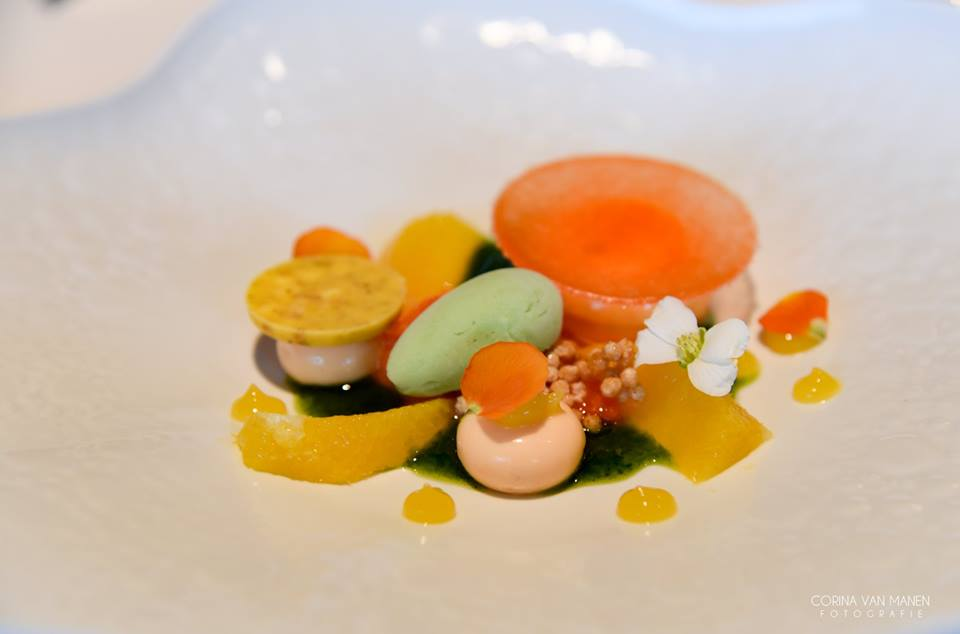 Rijst/sinaasappel/basilicum
