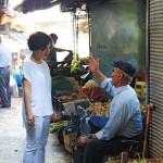 Sevtap op de markt, sfeer uit Turks tafelen