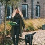 Natascha Boudewijn met hond