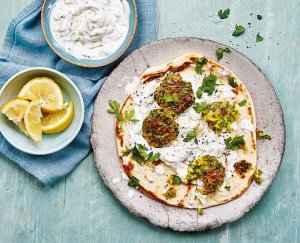 Griekse falafel met courgette
