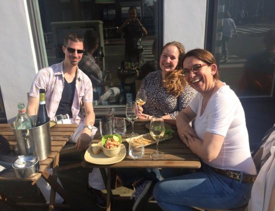 Bouzy wijnbar in Den Haag