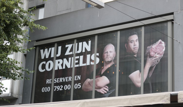 Cornelis Bar & Kitchen vooraanzicht