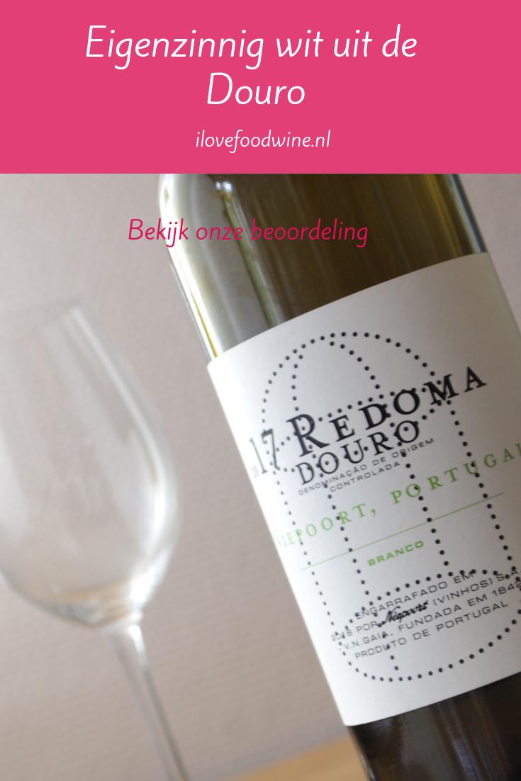 Wijn-spijs combinatie: droge witte wijn Redoma Douro branco. Combineer met risotto met zalm #wijnspijscombinatie #wijnspijs