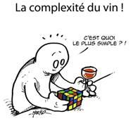 illustratie complexiteit in wijn