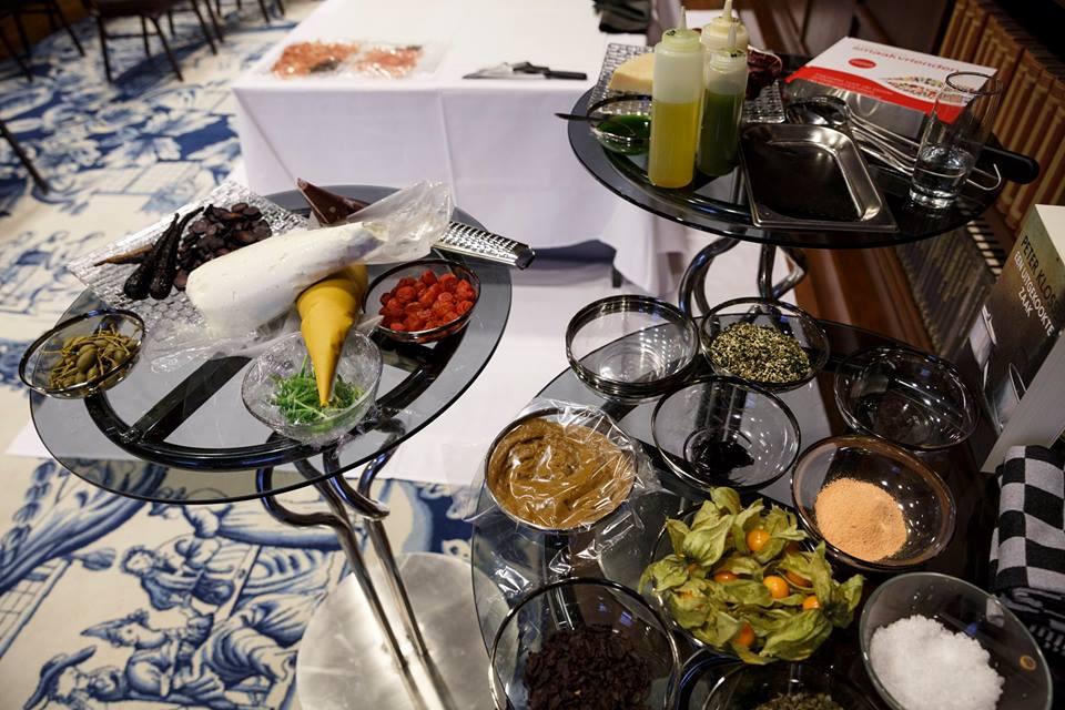 Ingrediënten foodie festival