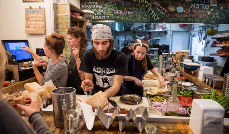 Zo wordt er gekookt in Tel Aviv